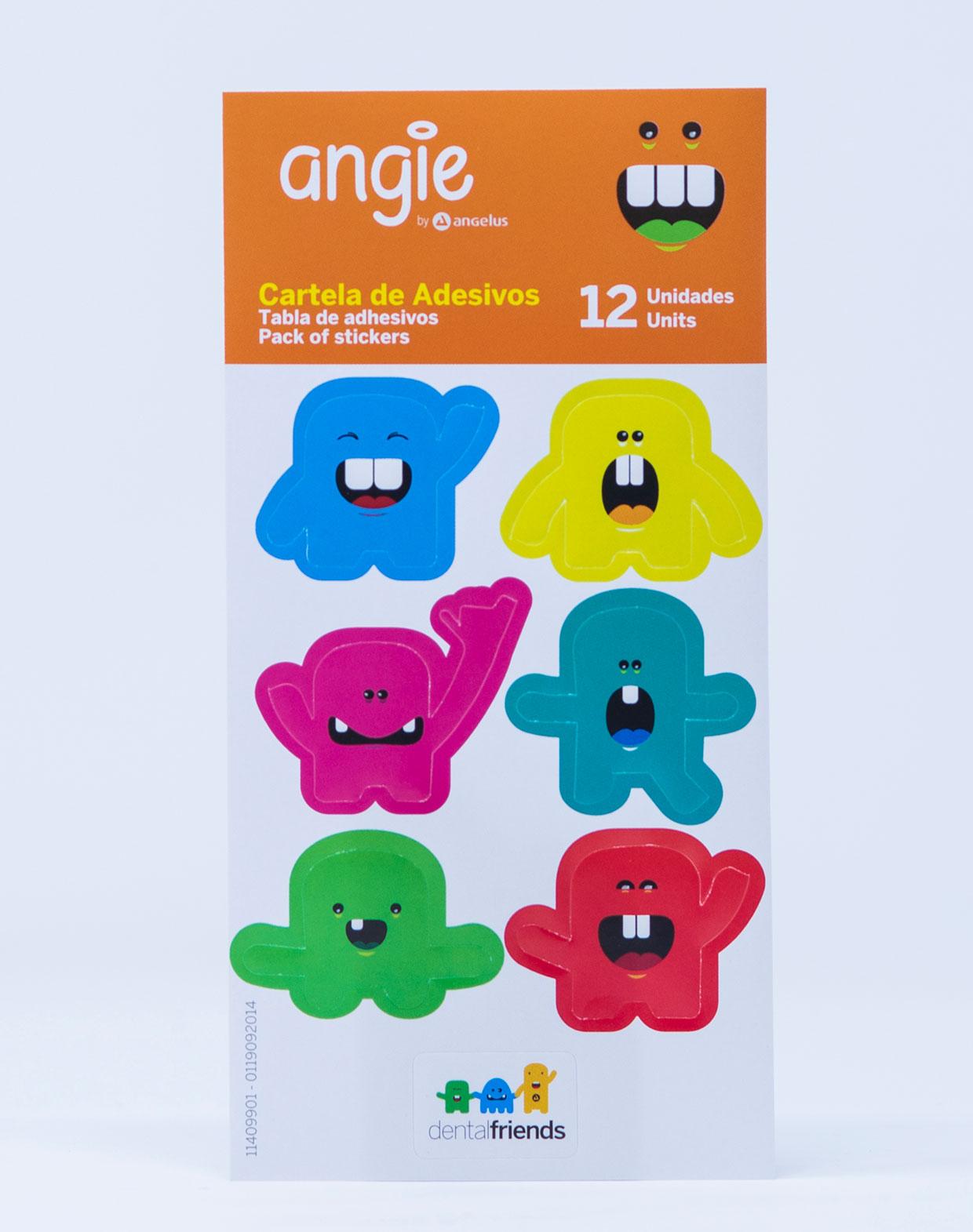 Angie Adesivi Dental Friends