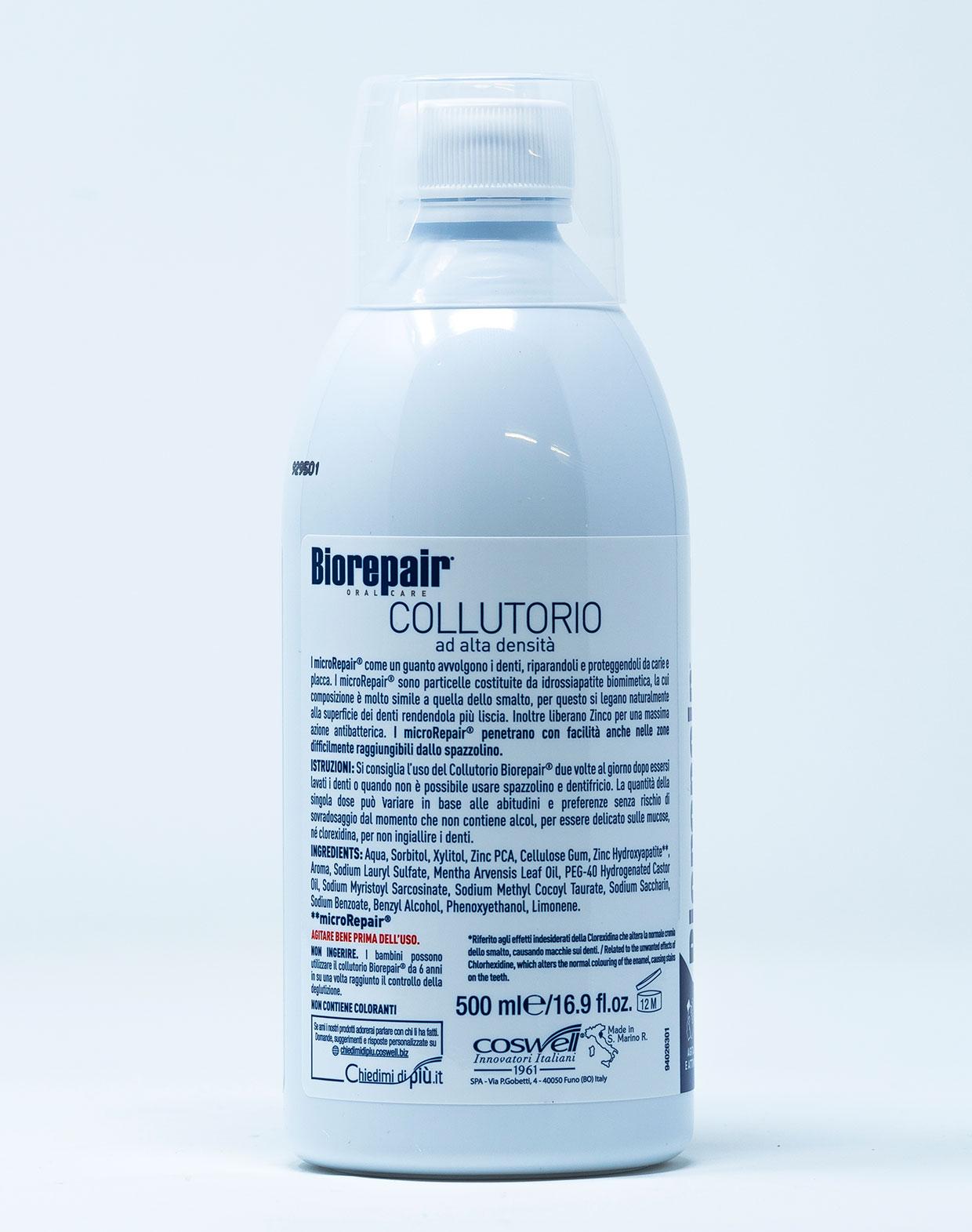 Biorepair Collutorio Antibatterico – 500 ml