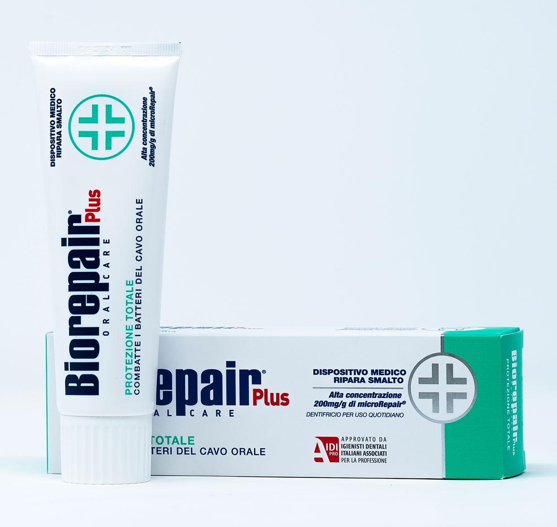Biorepair Dentifricio Protezione Totale Plus – 75 ml