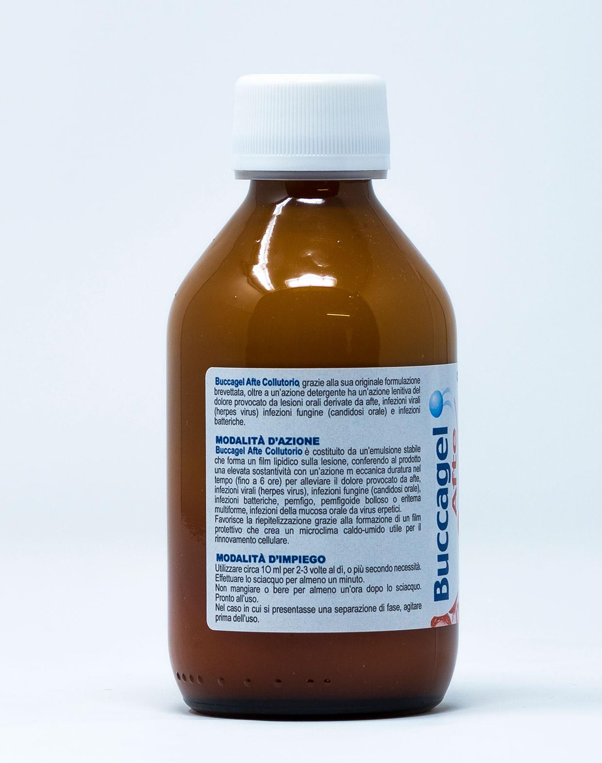 Buccagel Collutorio Afte - 200 ml