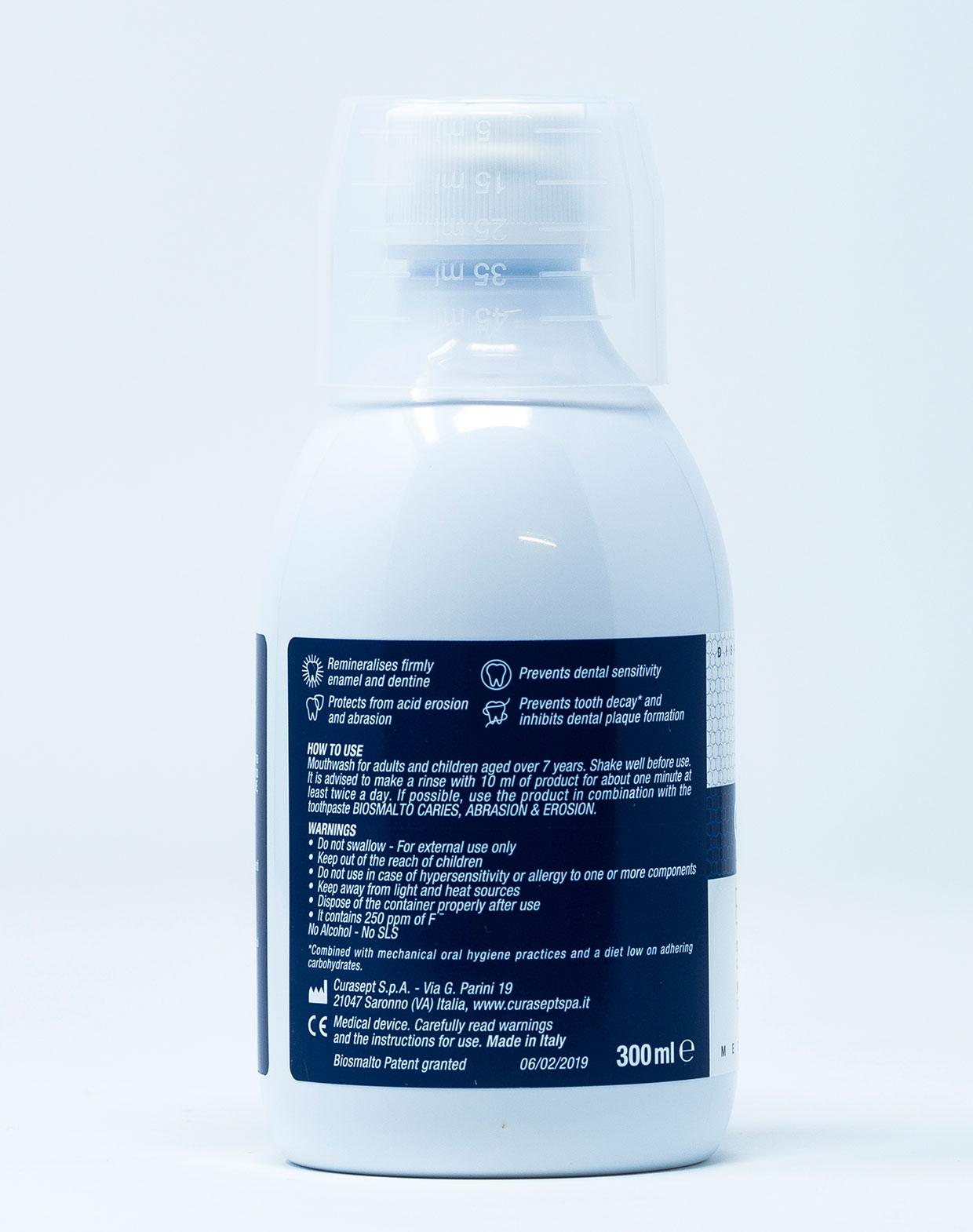 Curasept Biosmalto Collutorio Carie, Abrasione, Erosione – 300 ml