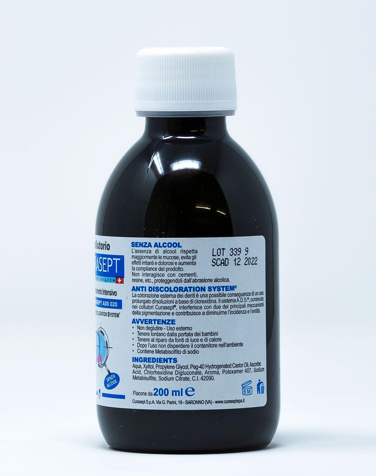 Curasept Collutorio Trattamento Intensivo 0,20% - 200 ml