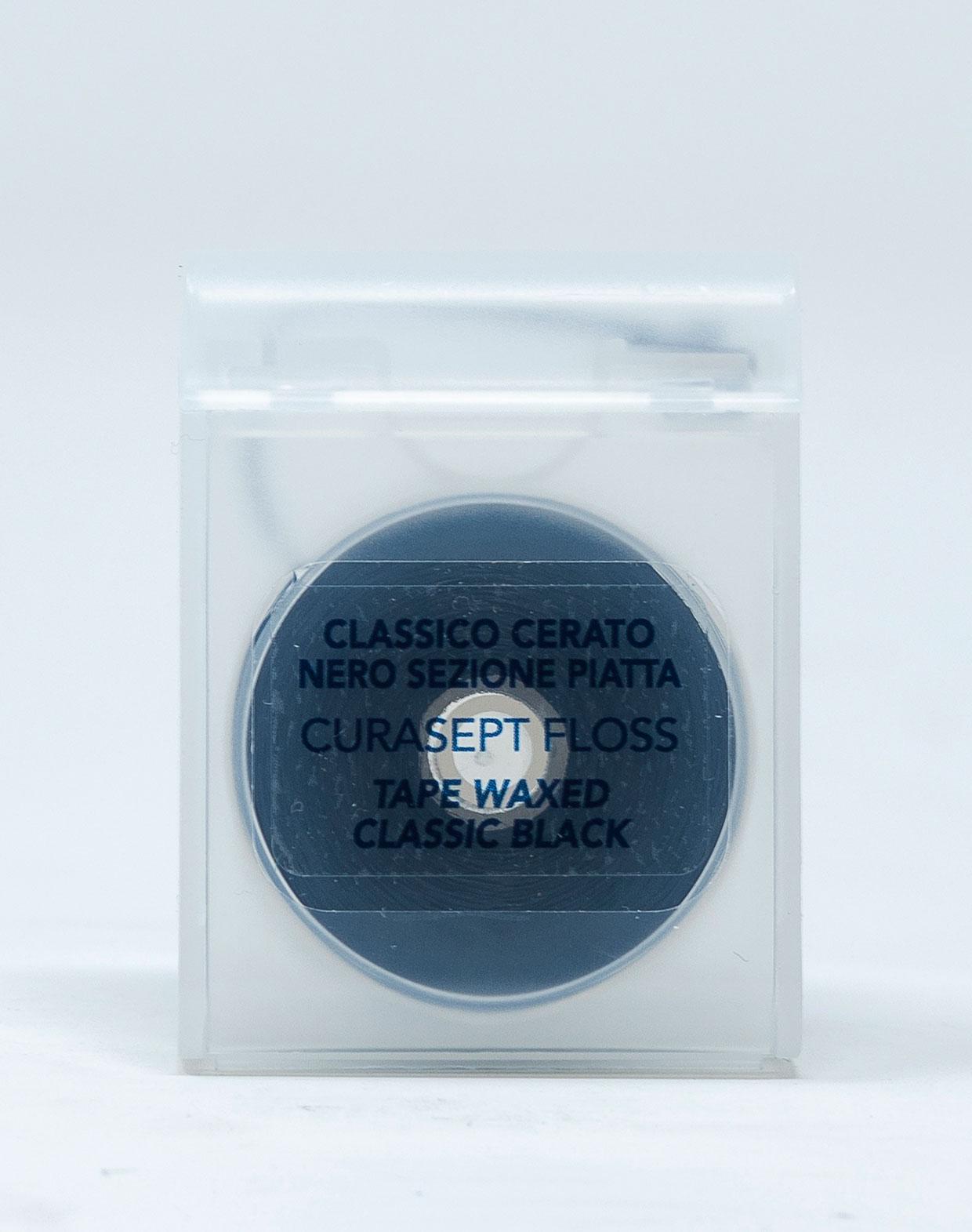 Curasept Filo Interdentale Classico Cerato Nero – 50 m