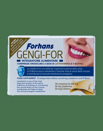 Forhans Integratore Alimentare Gengi-For – 30 cpr.