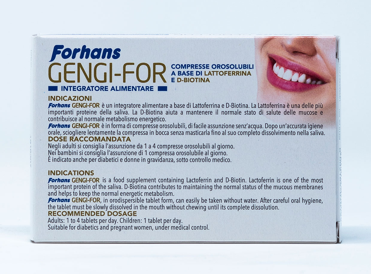 Forhans Integratore Alimentare Gengi-For – 30 cpr.