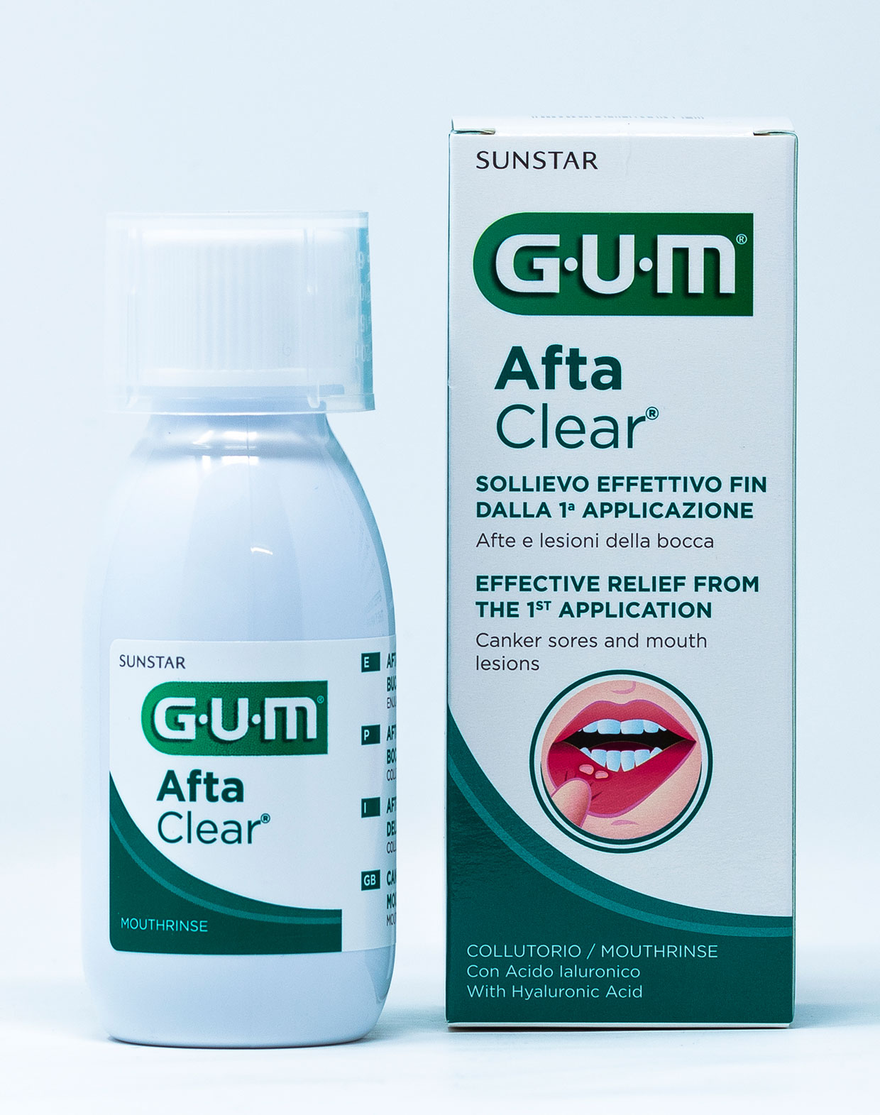 Gum Collutorio AftaClear – 120 ml
