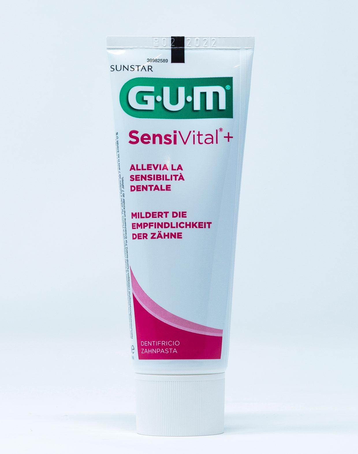 Gum Dentifricio SensiVital+ – 75 ml