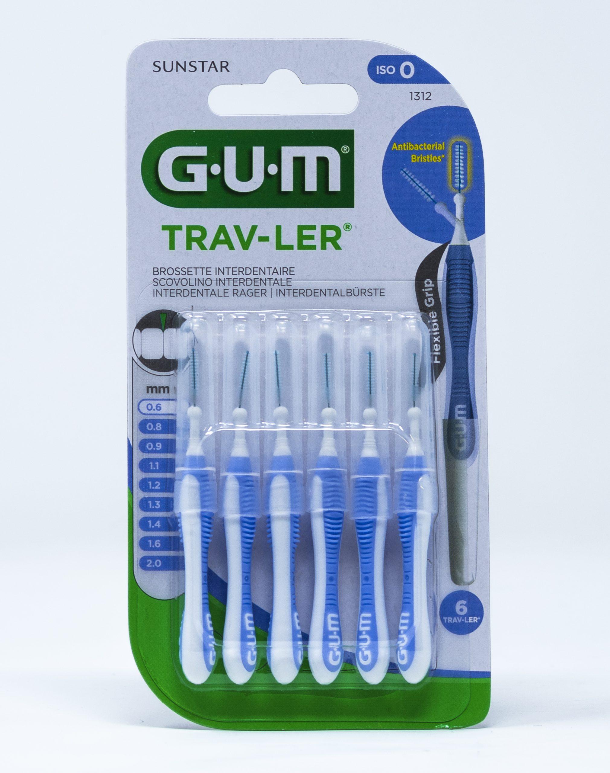 Gum Scovolino Trav-Ler ISO 0 – 0,6 mm | 1312