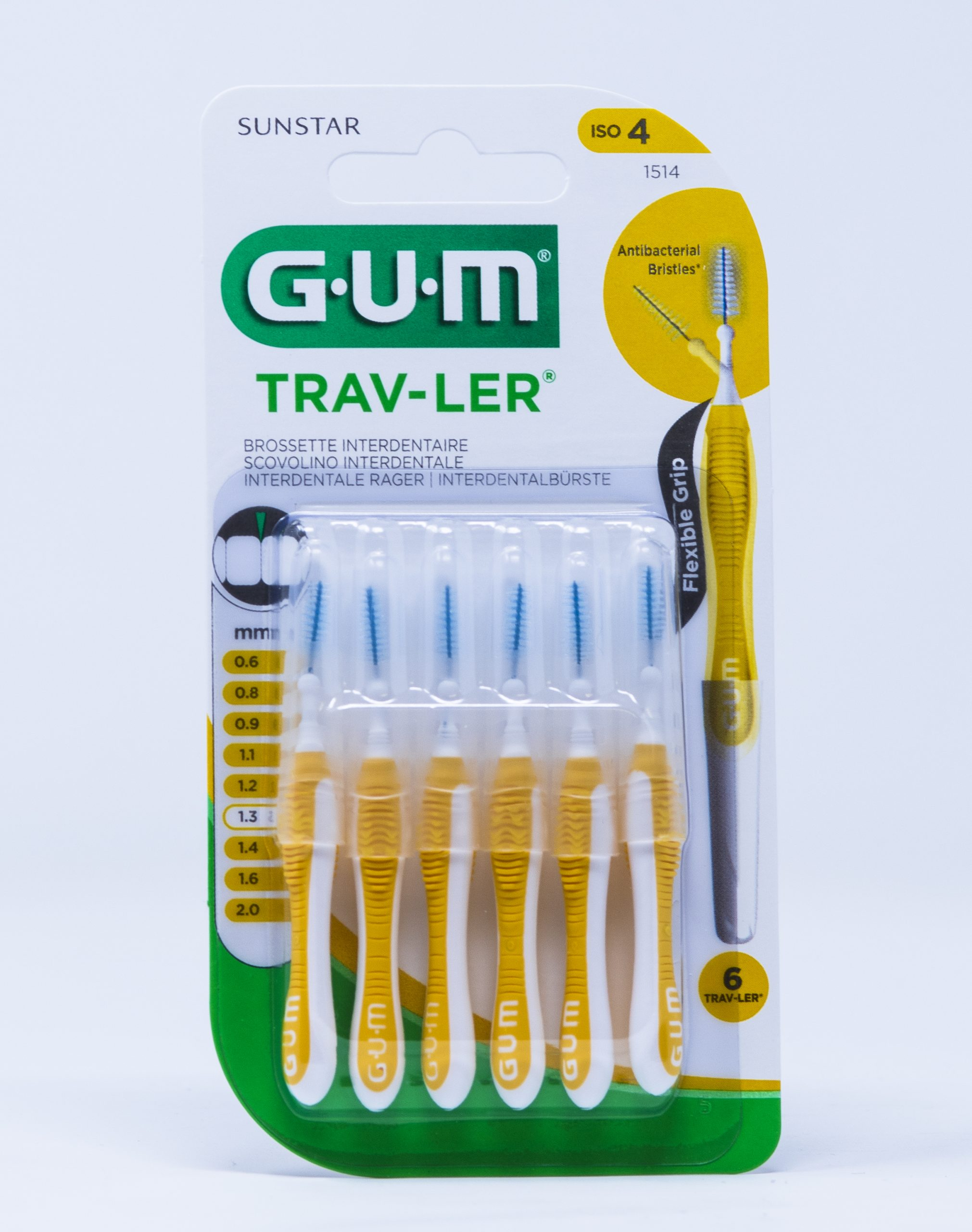 Gum Scovolino Trav-Ler ISO 4 – 1,3 mm | 1514