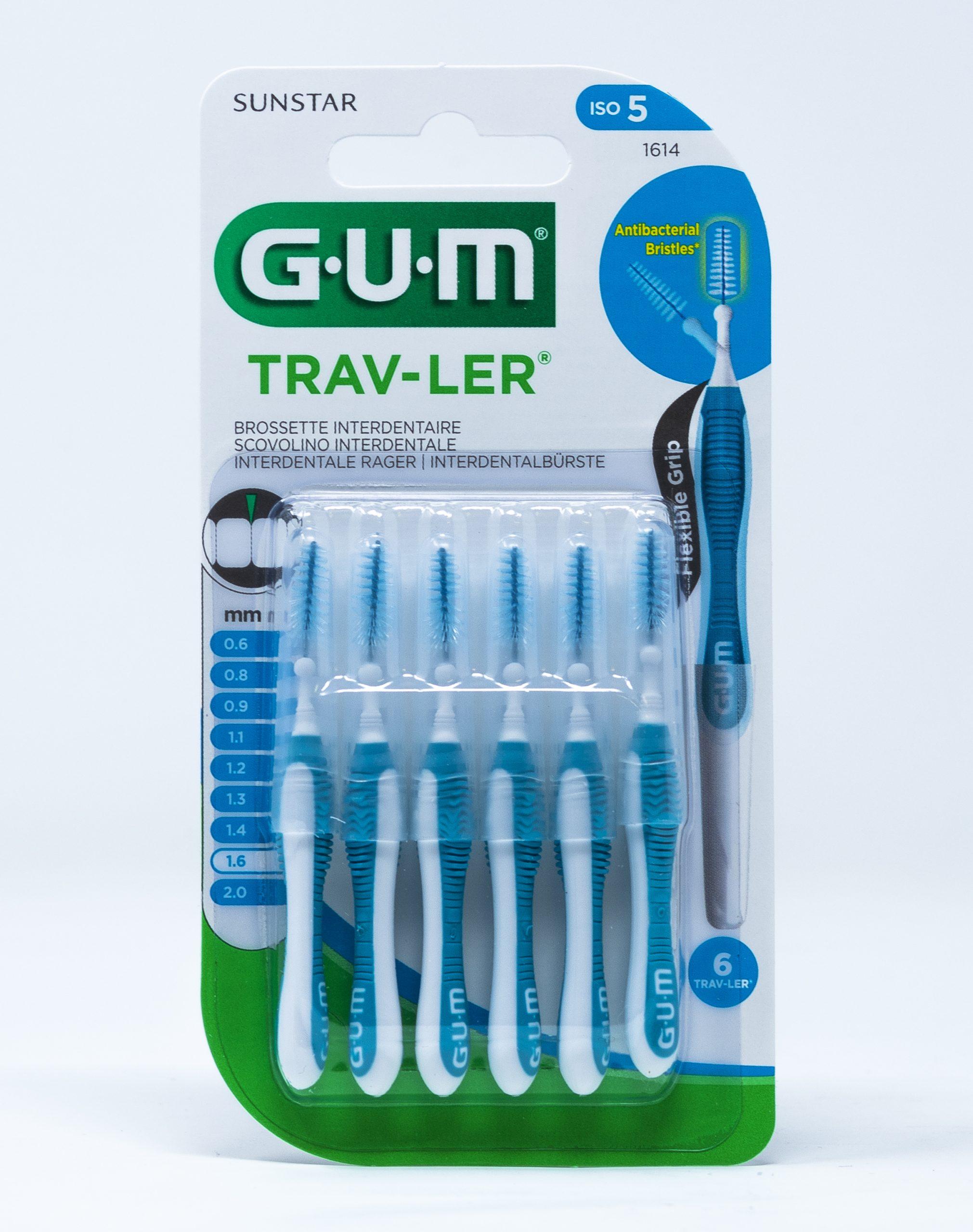 Gum Scovolino Trav-Ler ISO 5 – 1,6 mm | 1614