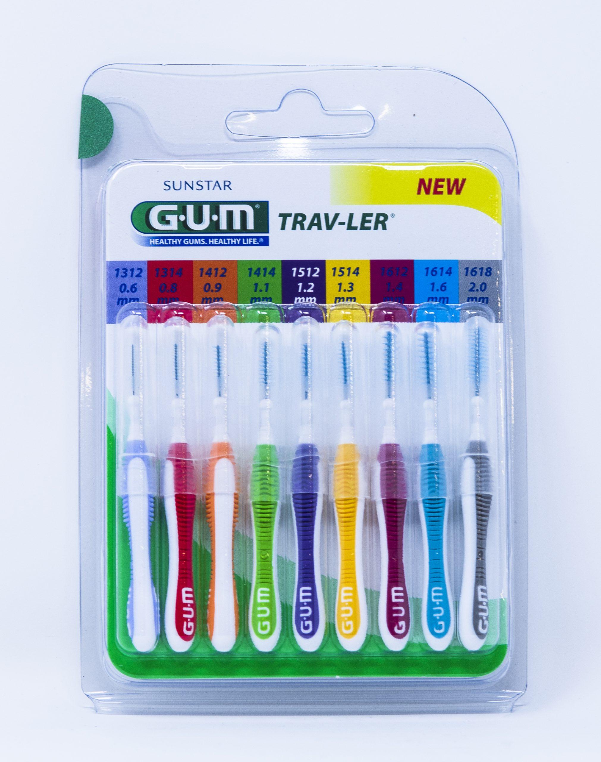 Gum Scovolini Trav-Ler Mix ISO 0-6 da 0,6 mm a 2,0 mm