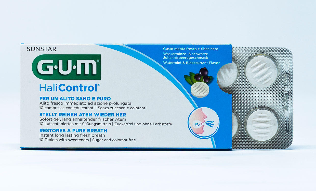 Gum Compresse HaliControl – 10 cpr