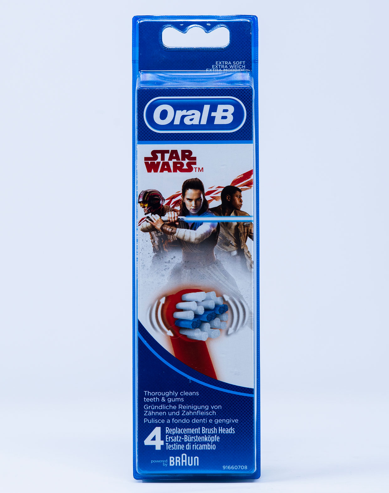OralB Testina di Ricambio Stages Star Wars – 4 pz.