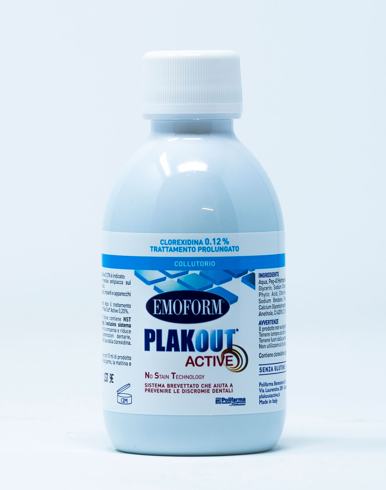 Emoform Collutorio Plak Out Active 0,12 % – 200 ml
