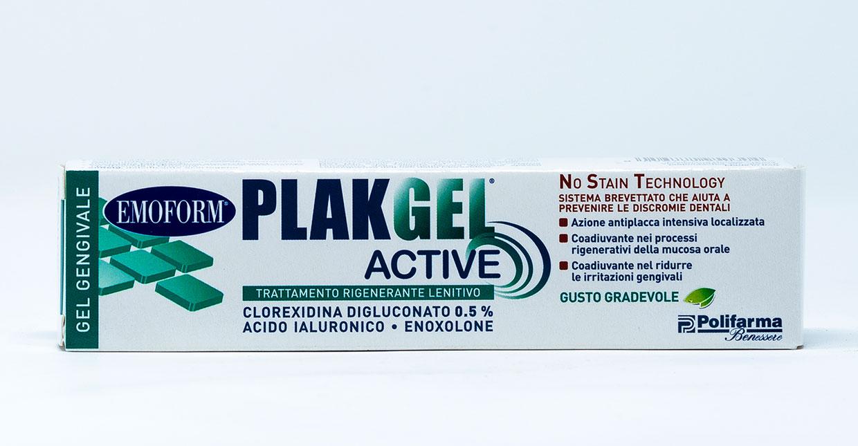 Plak Gel Gel Protezione Gengive 0,5 % - 30 ml
