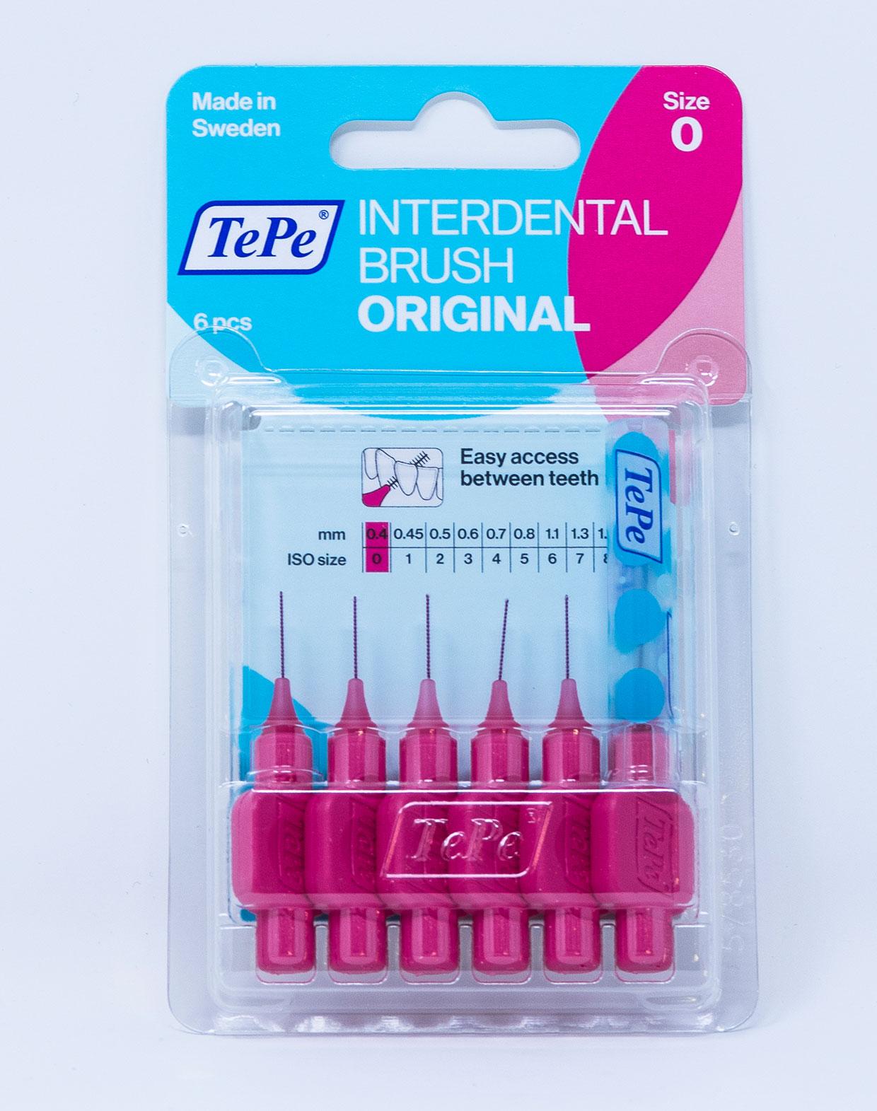 TePe Scovolino Original ISO 0 – 0,4 mm