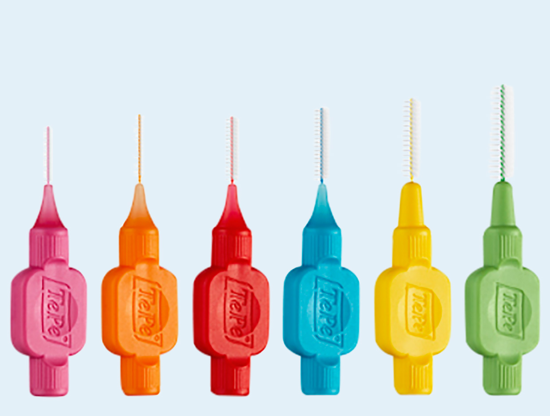 TePe Scovolini Original Mix ISO 0 – 5 da 0,4 mm a 0,8 mm