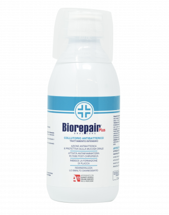 Biorepair Plus Collutorio Antibatterico Trattamento Intensivo - 250 ml