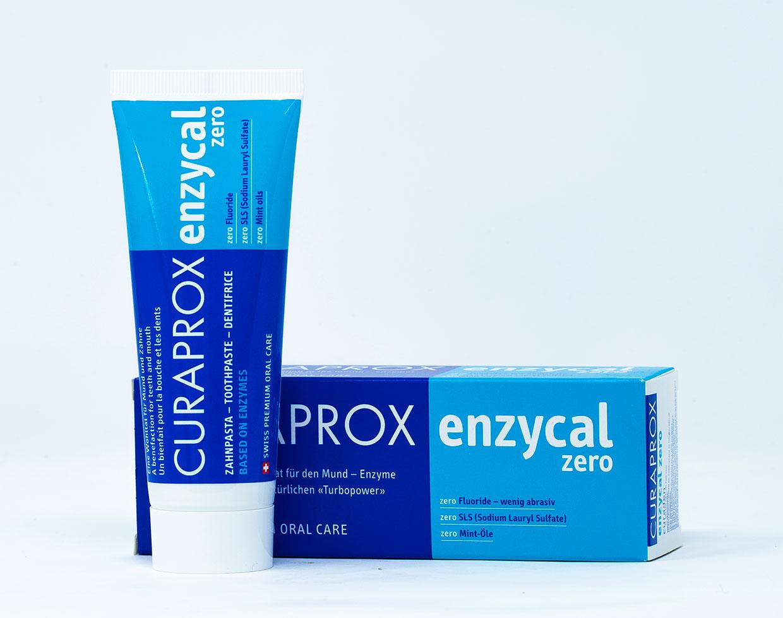 Curaprox Dentifricio Enzycal Zero - 75 ml