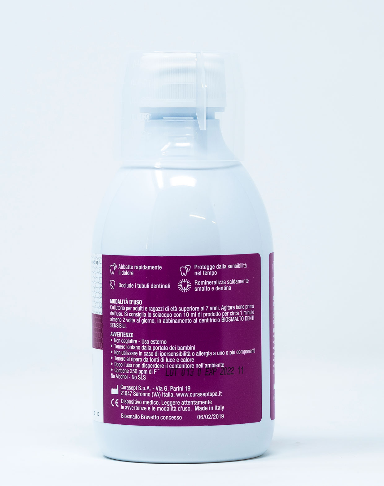 Curasept Biosmalto Collutorio Denti Sensibili  – 300 ml