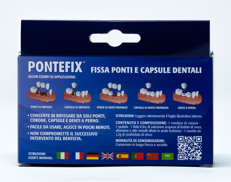 Fimo Pontefix Kit Fissaggio Ponti e Capsule