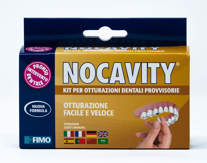 Fimo Nocavity Kit per Otturazioni Provvisorie