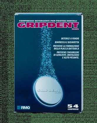 Fimo Gripdent Tabs 54 cpr + 1 Spazzolino per Protesi