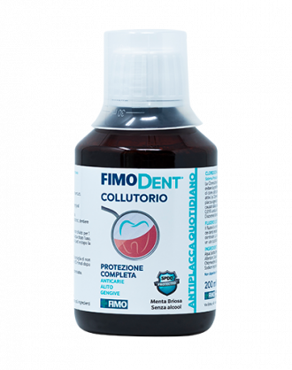 Fimo FimoDent Collutorio Antiplacca Quotidiano CHX 0,05% + Fluoro 0,05% - 200 ml