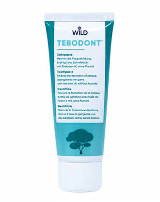 Tebodont Dentifricio al Tea Tree Oil Senza Fluoro – 75 ml