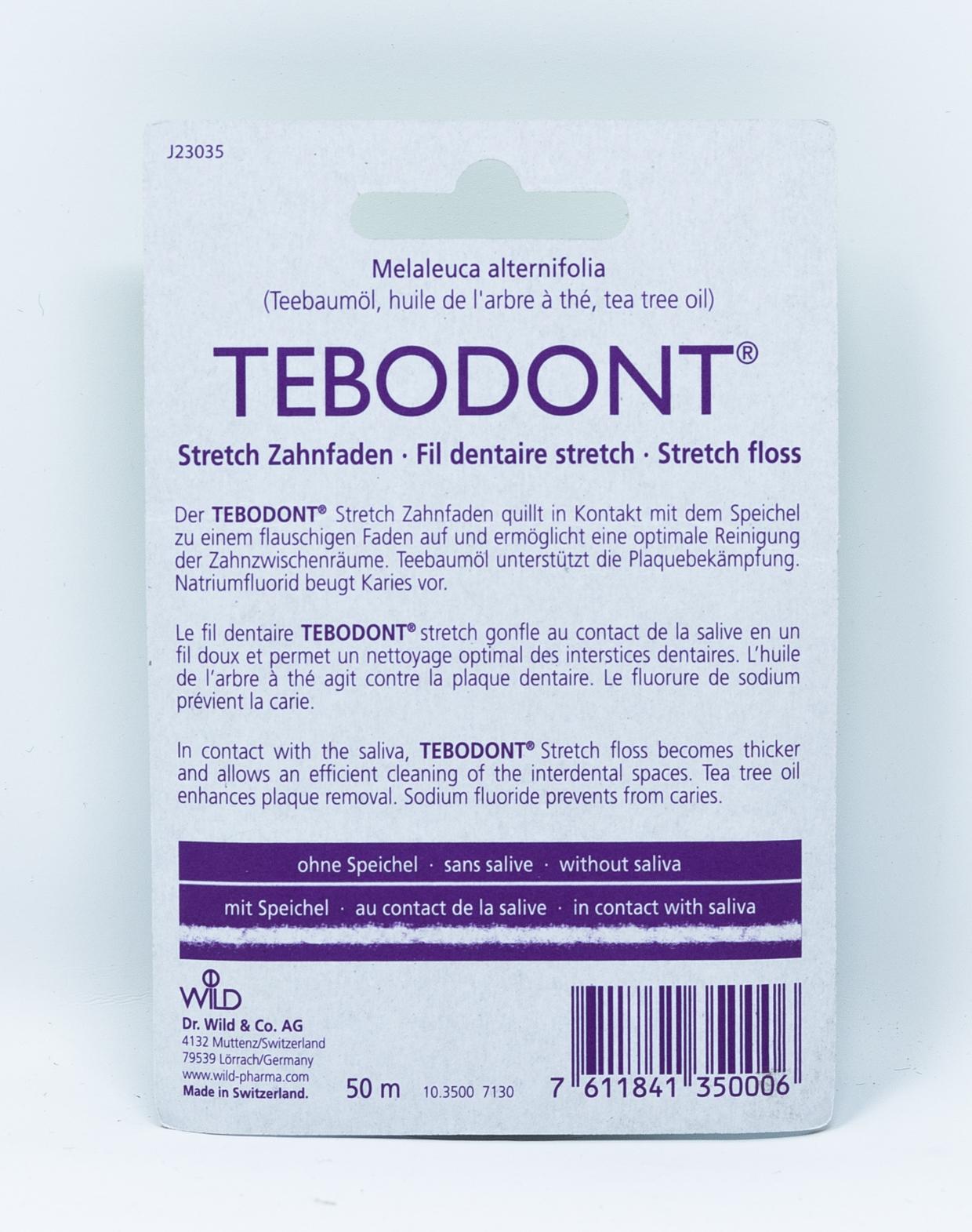 Tebodont Filo Interdentale Stretch al Tea Tree Oil – 50 ml