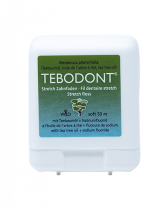 Tebodont Filo Interdentale Stretch al Tea Tree Oil – 50 ml