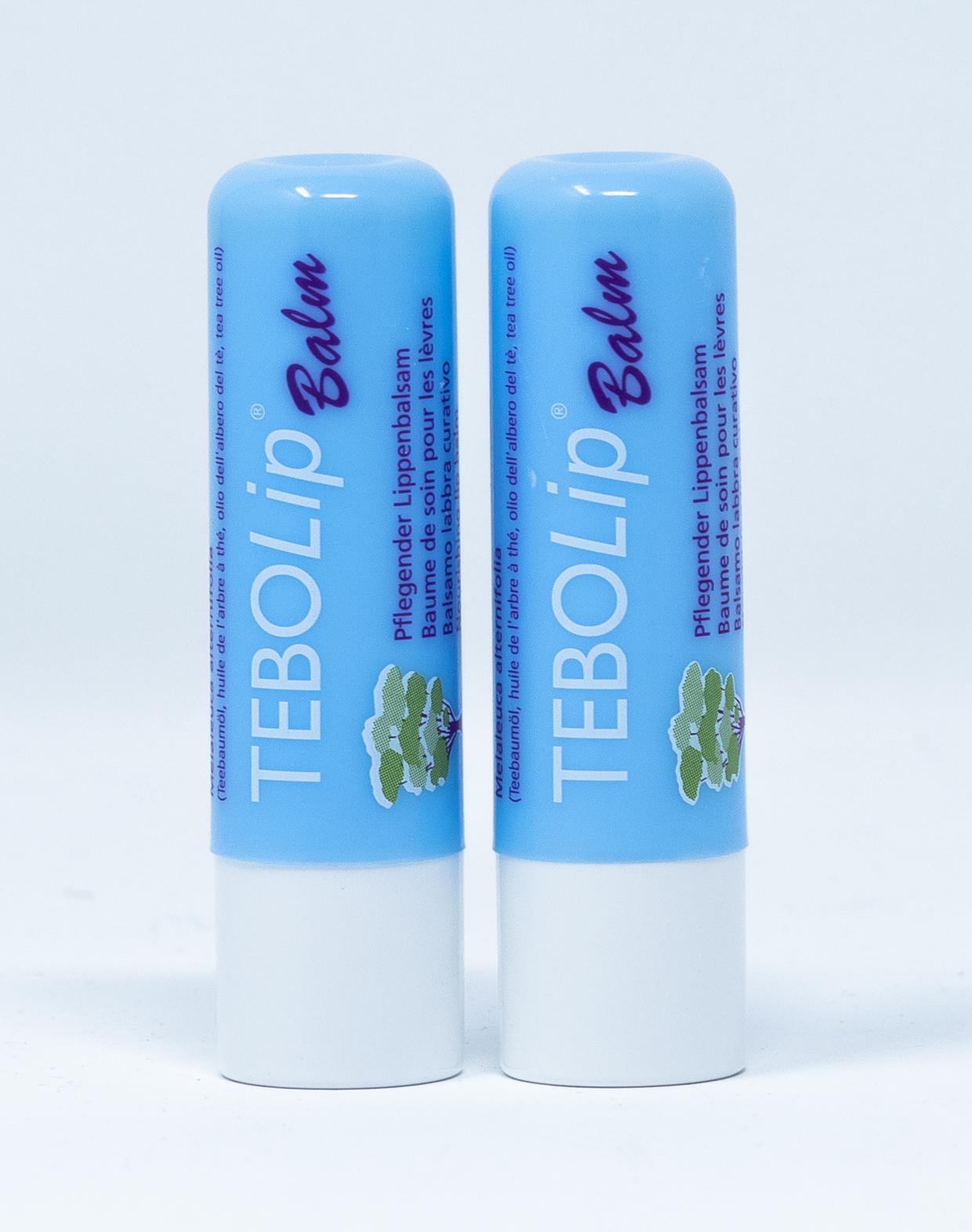 Tebodont Tebo Lip Balm Duo Stick Balsamo Labbra  – 2 pz