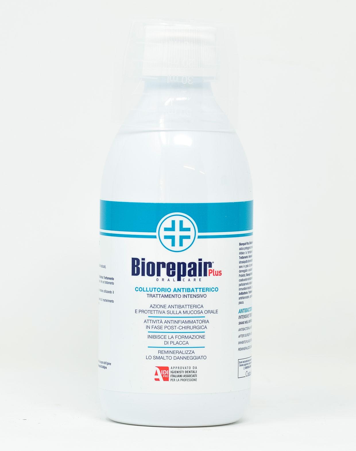 Biorepair Plus Collutorio Antibatterico Trattamento Intensivo - 250 ml
