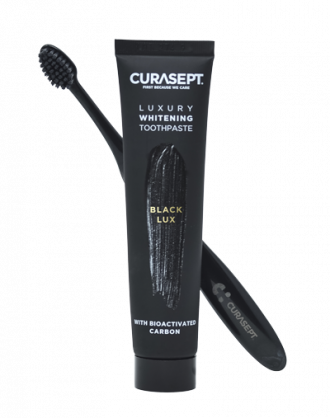Curasept Dentifricio Black Luxury + Spazzolino
