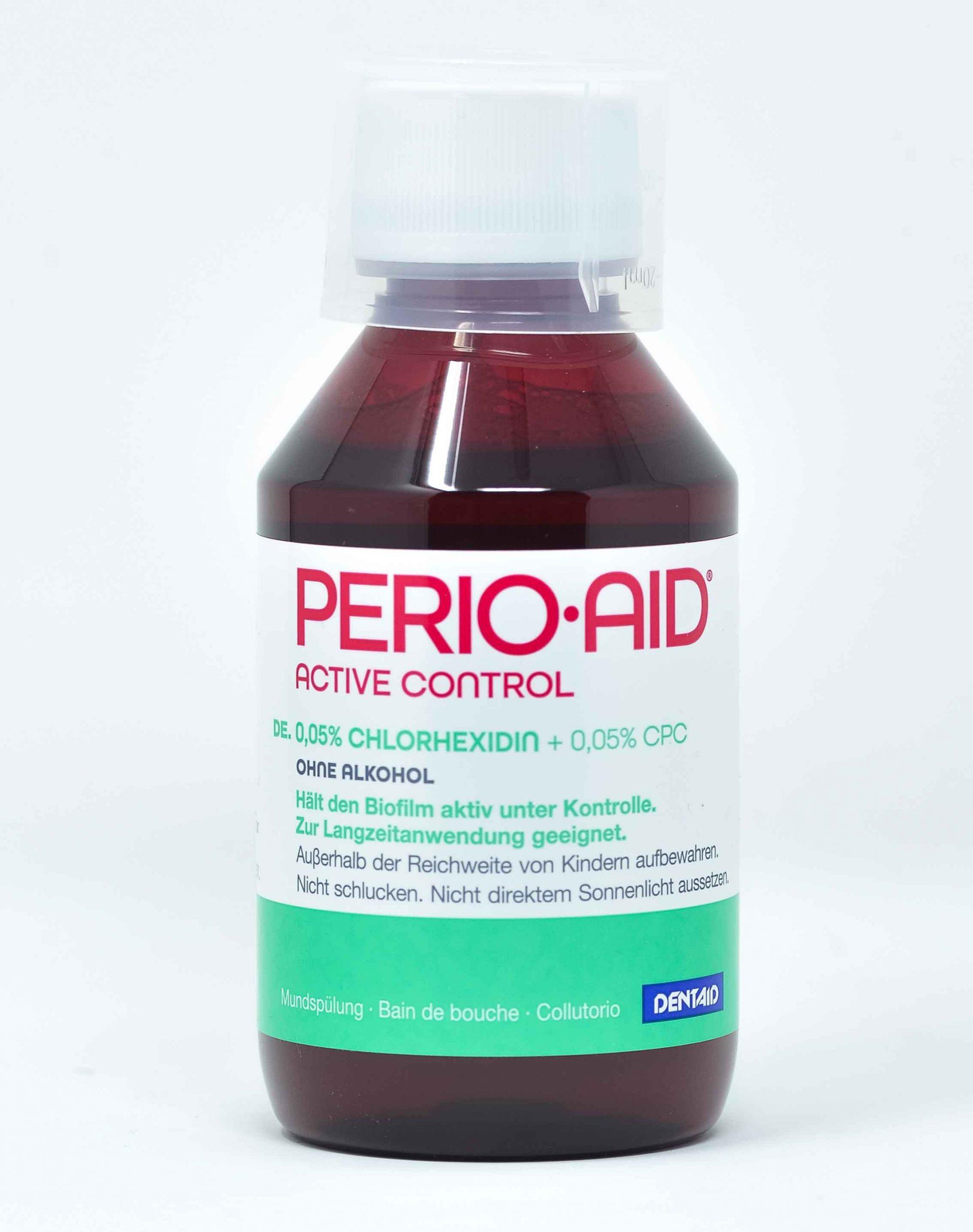 Dentaid Collutorio Perio Aid Active Control CHX 0,05% + CPC 0,05% - 150 ml
