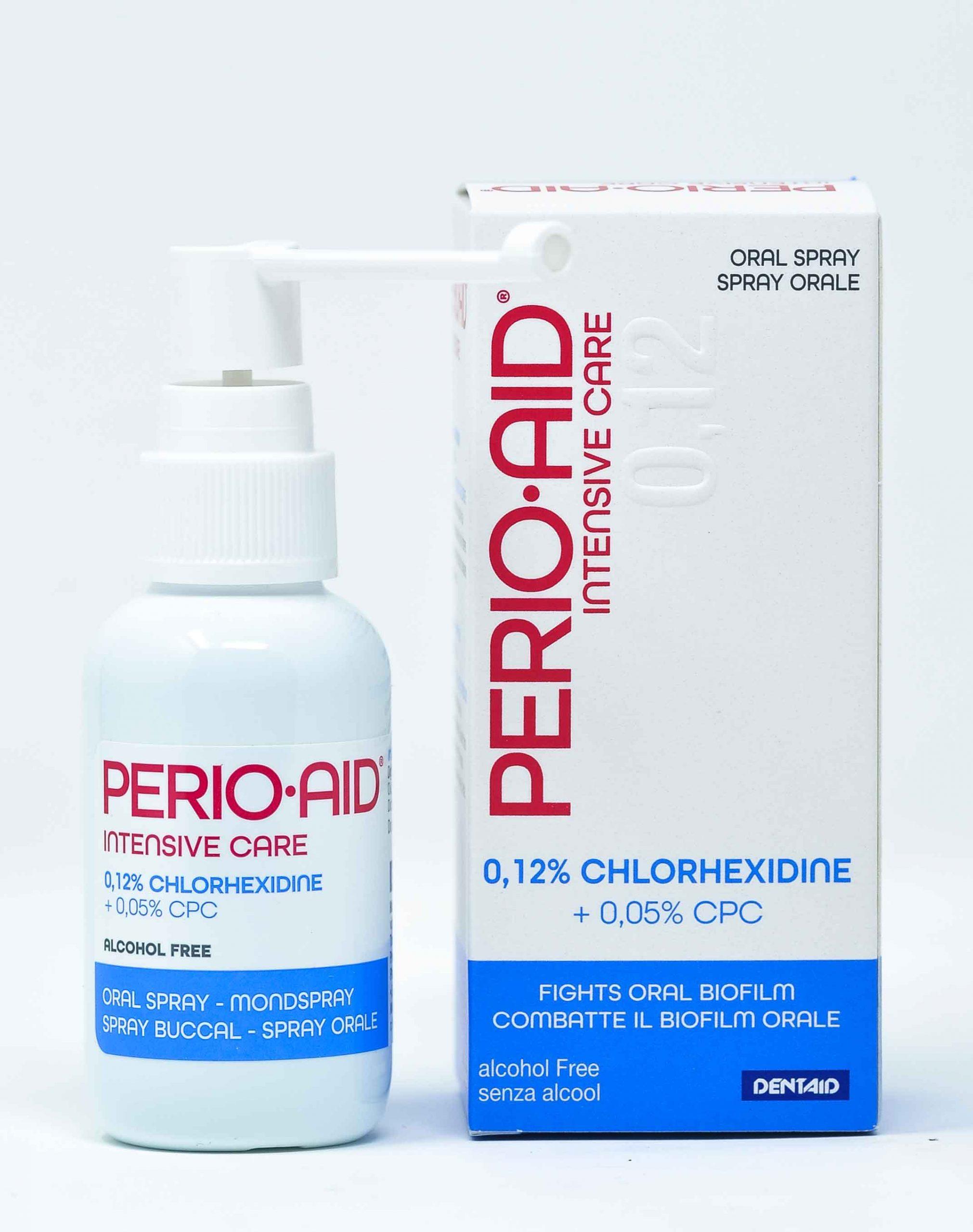 Dentaid Spray Perio Aid Intensive Care CHX 0,12% + CPC 0,05% - 50 ml