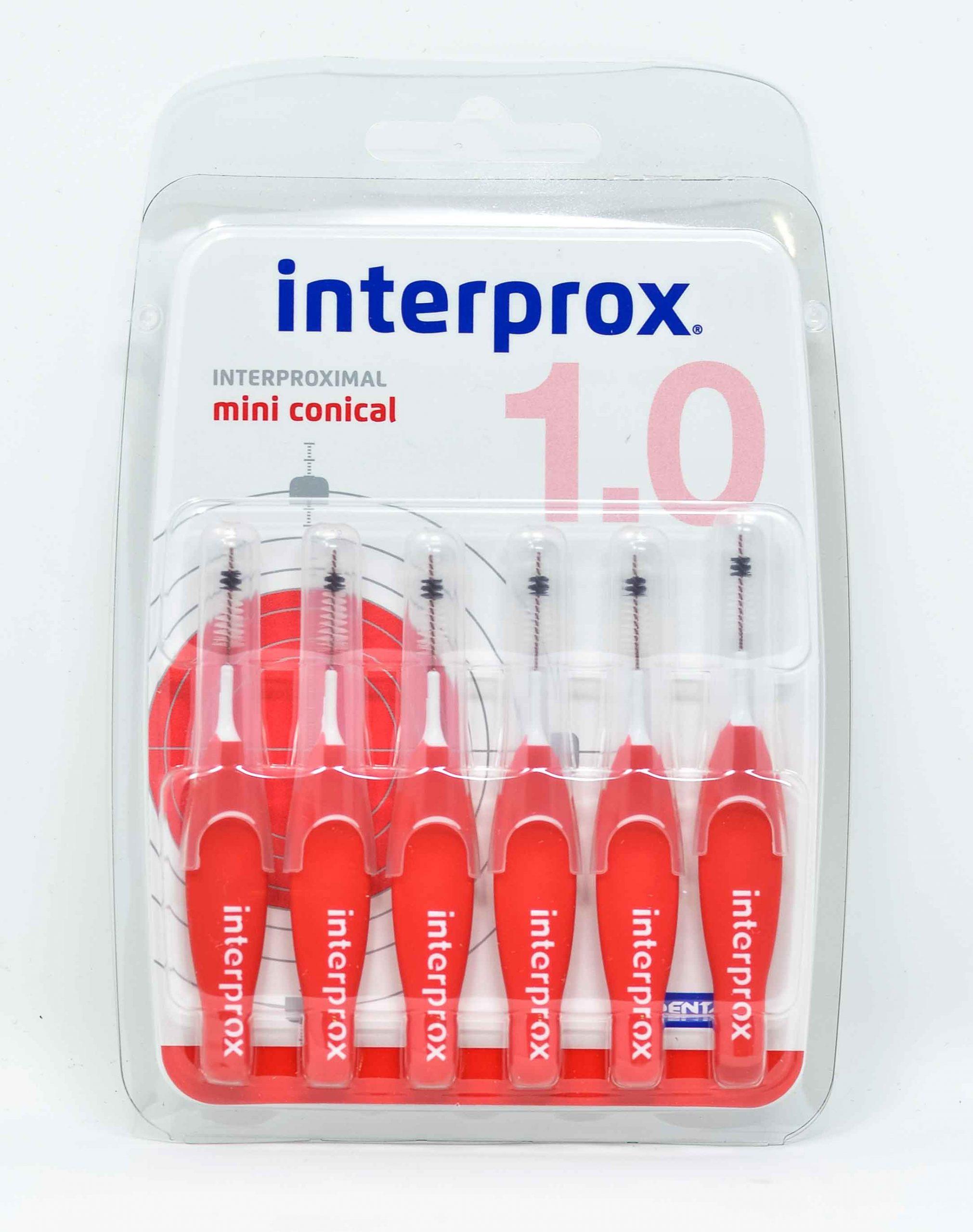 Dentaid Scovolino Interprox Mini Conical - 1,0 mm