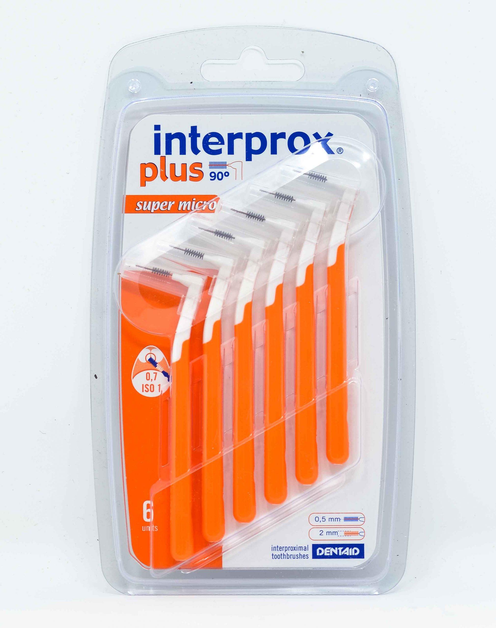 Dentaid Scovolino Interprox Plus Super Micro - 0,7 mm