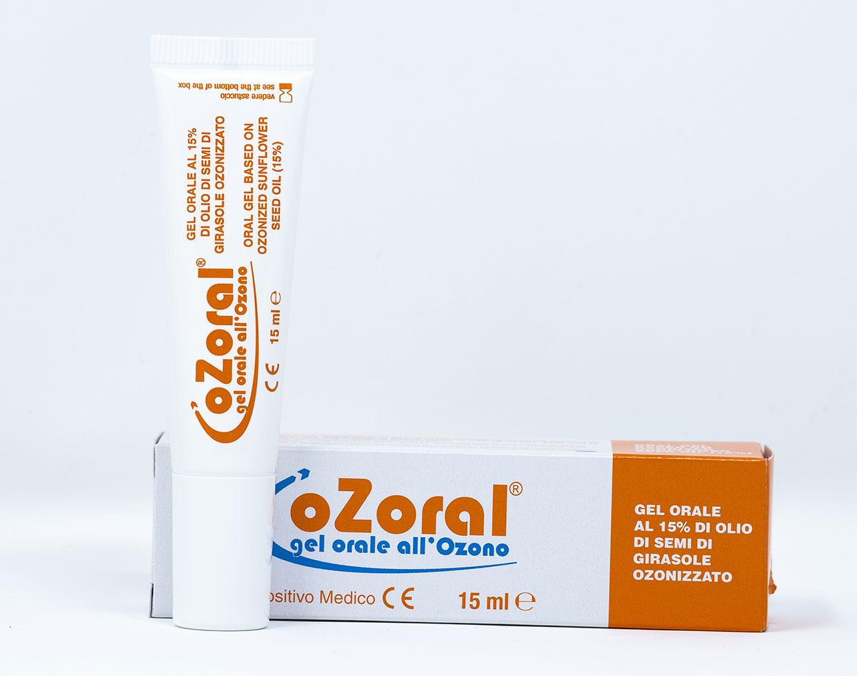 Ozoral Idrogel  - Gel orale all'Ozono - 15 ml