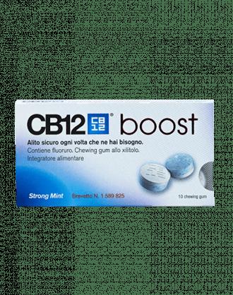 CB12 Boost Gomme da Masticare Strong Mint