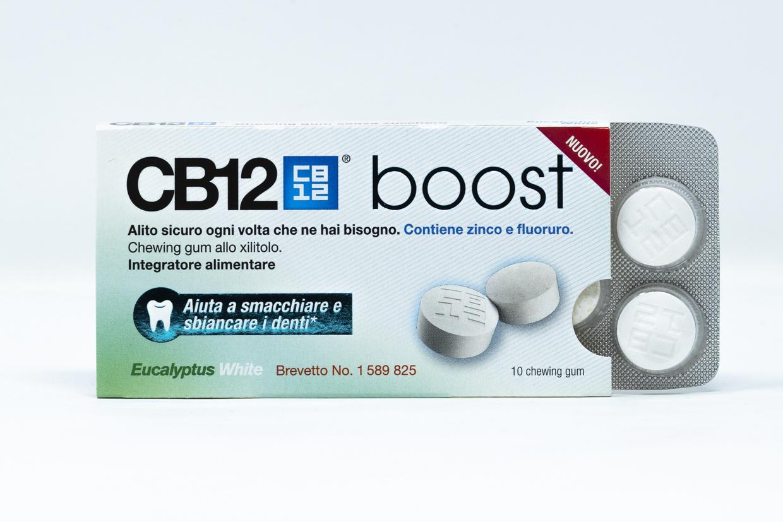CB12 Boost Gomme da Masticare Eucaliptus White