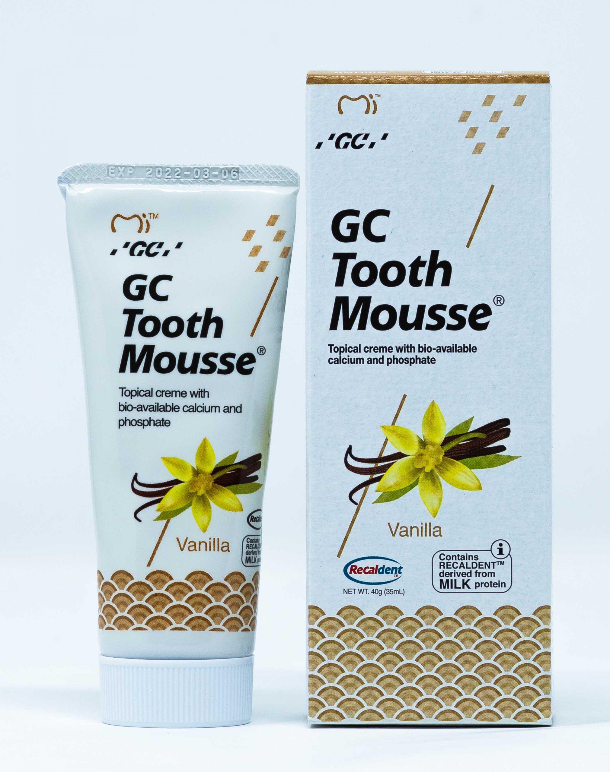 GC Crema Remineralizzante Tooth Mousse Vaniglia - 40 g