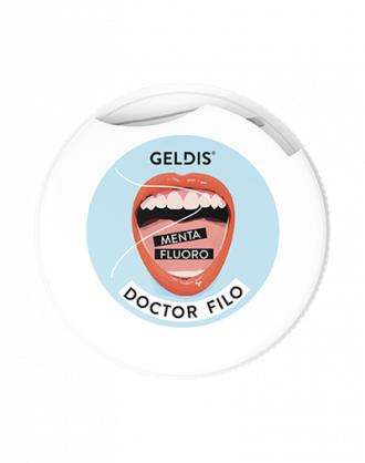 Geldis Doctor Filo Filo Interdentale Espandibile con Menta e Fluoro - 30 mt