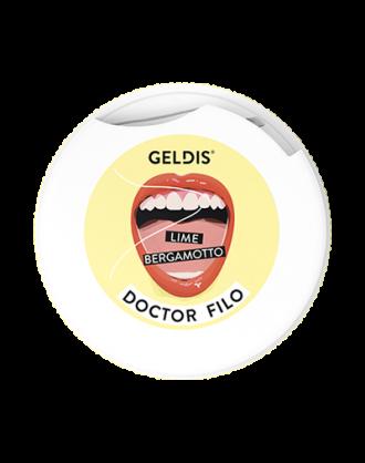 Geldis Doctor Filo Filo Interdentale Espandibile Lime e Bergamotto – 30 mt
