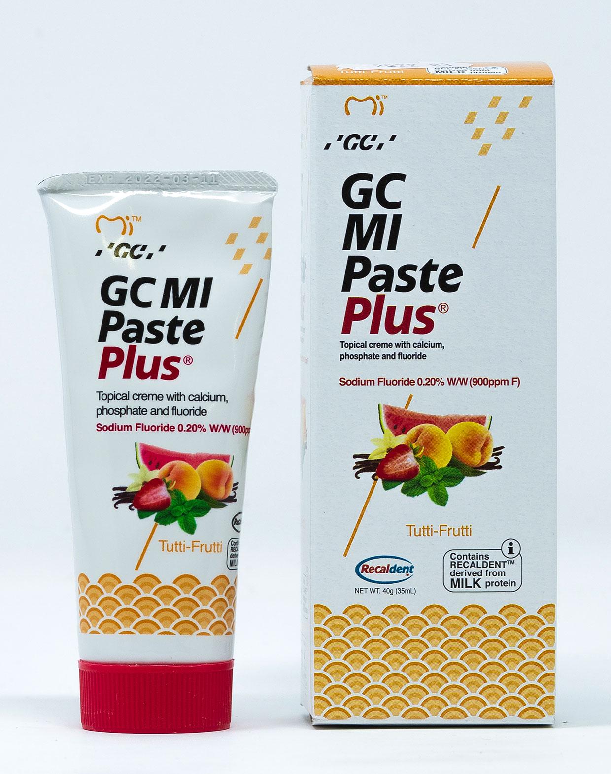 GC MI Paste Plus Tutti Frutti - 40 g