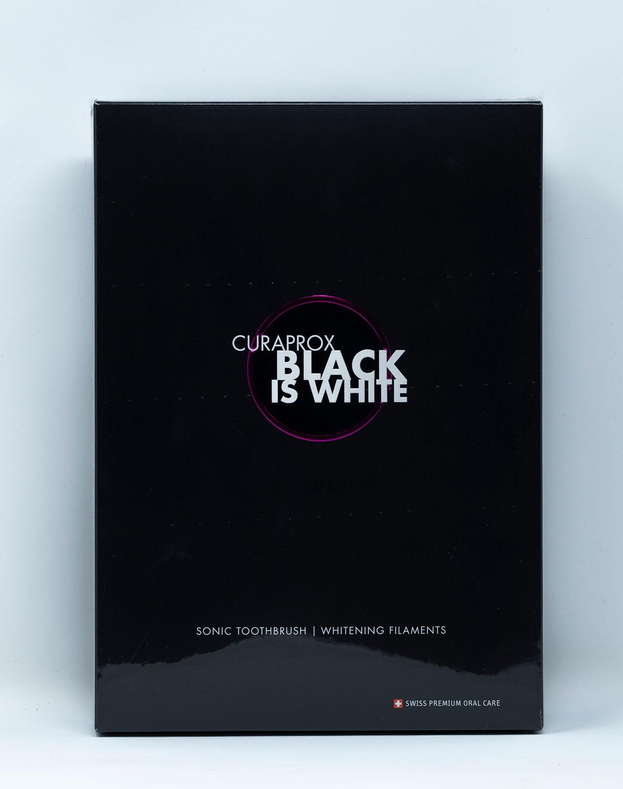 Curaprox Spazzolino Sonico Hydrosonic Black is White
