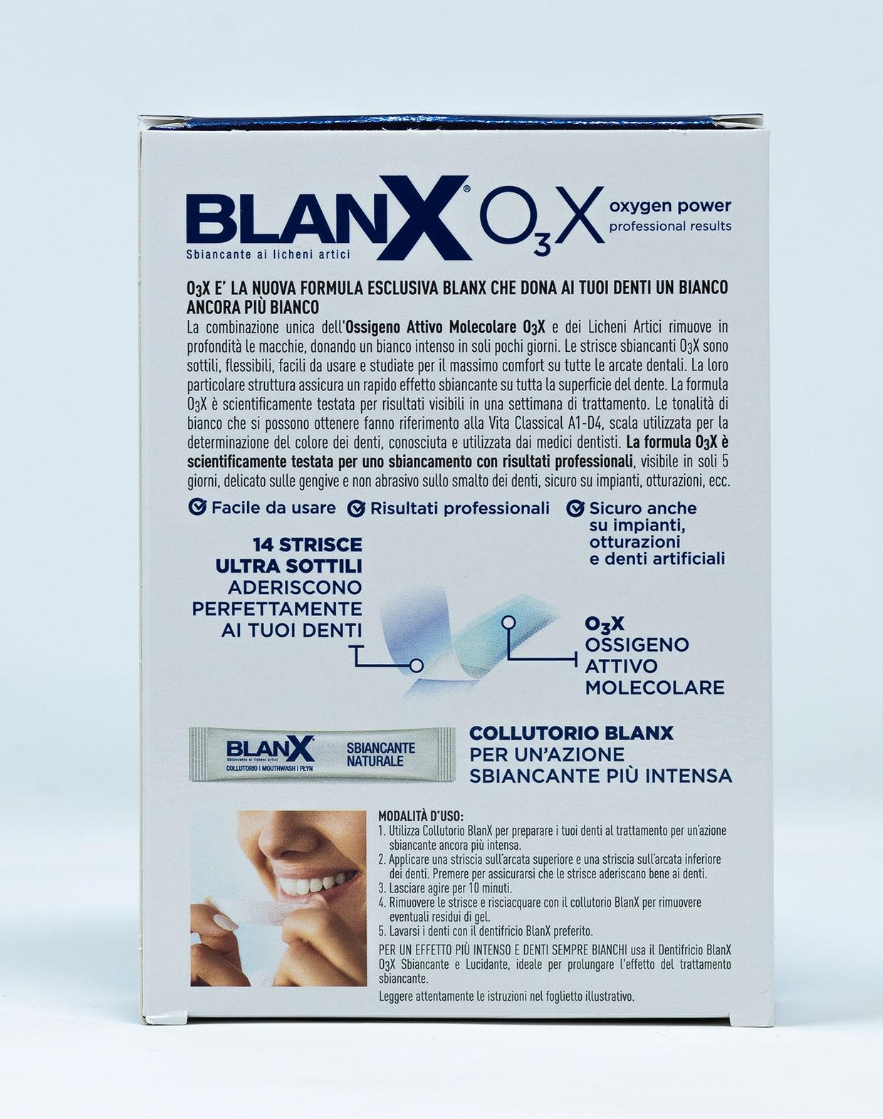 BlanX O3X Strisce Sbiancanti - 14 pz