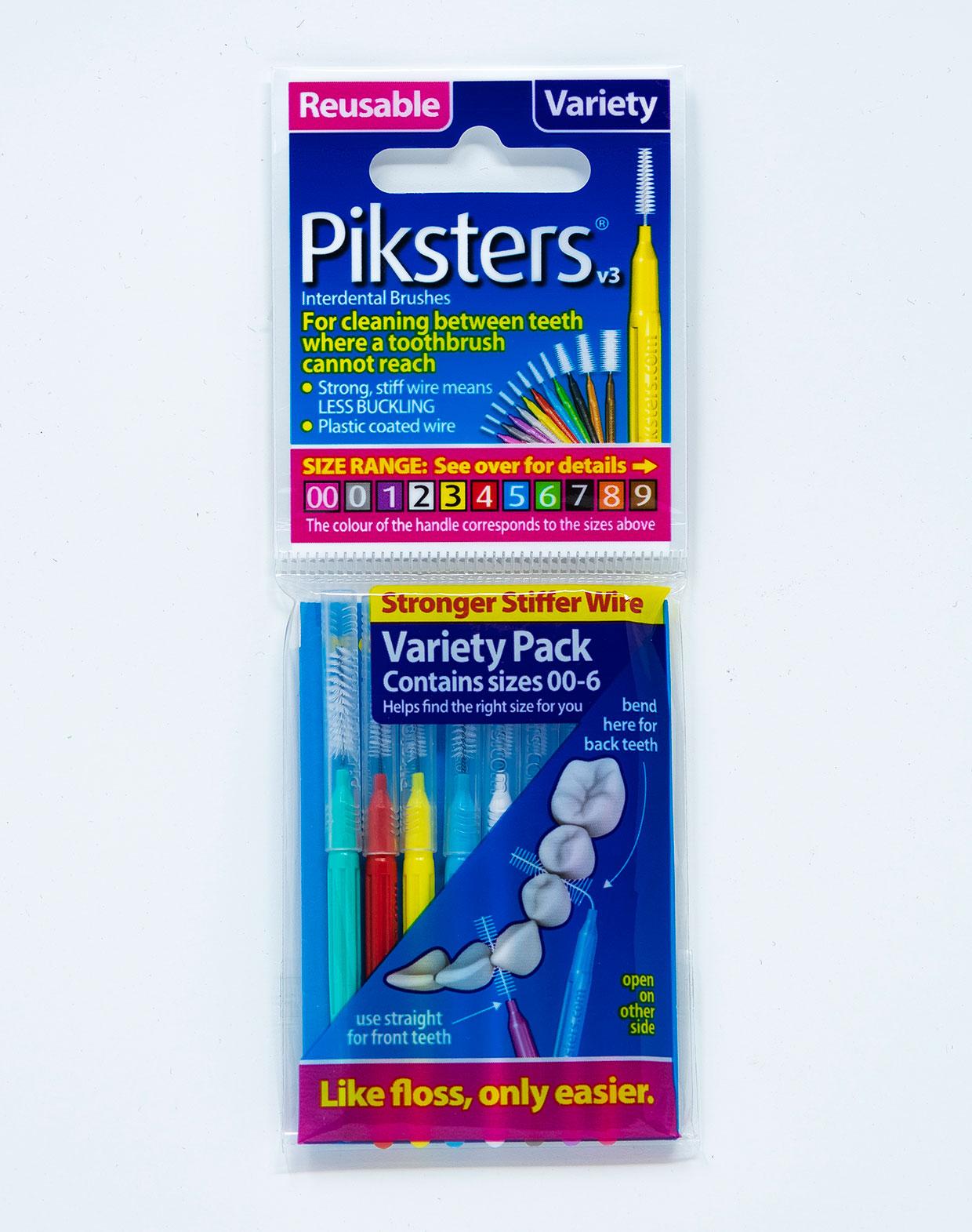 Piksters Scovolini Mix 00-6 - da 0,6 a 1,4 mm