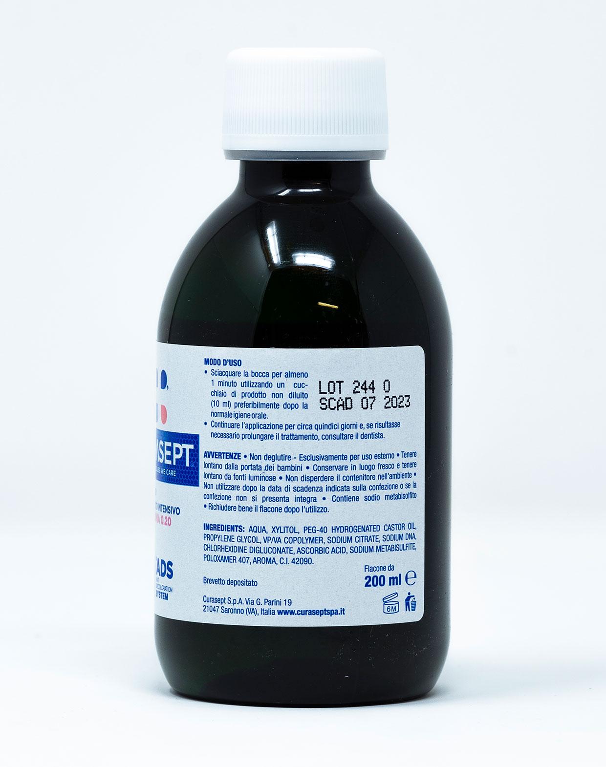 Curasept Collutorio ADS DNA Trattamento Intensivo 0,20% - 200 ml