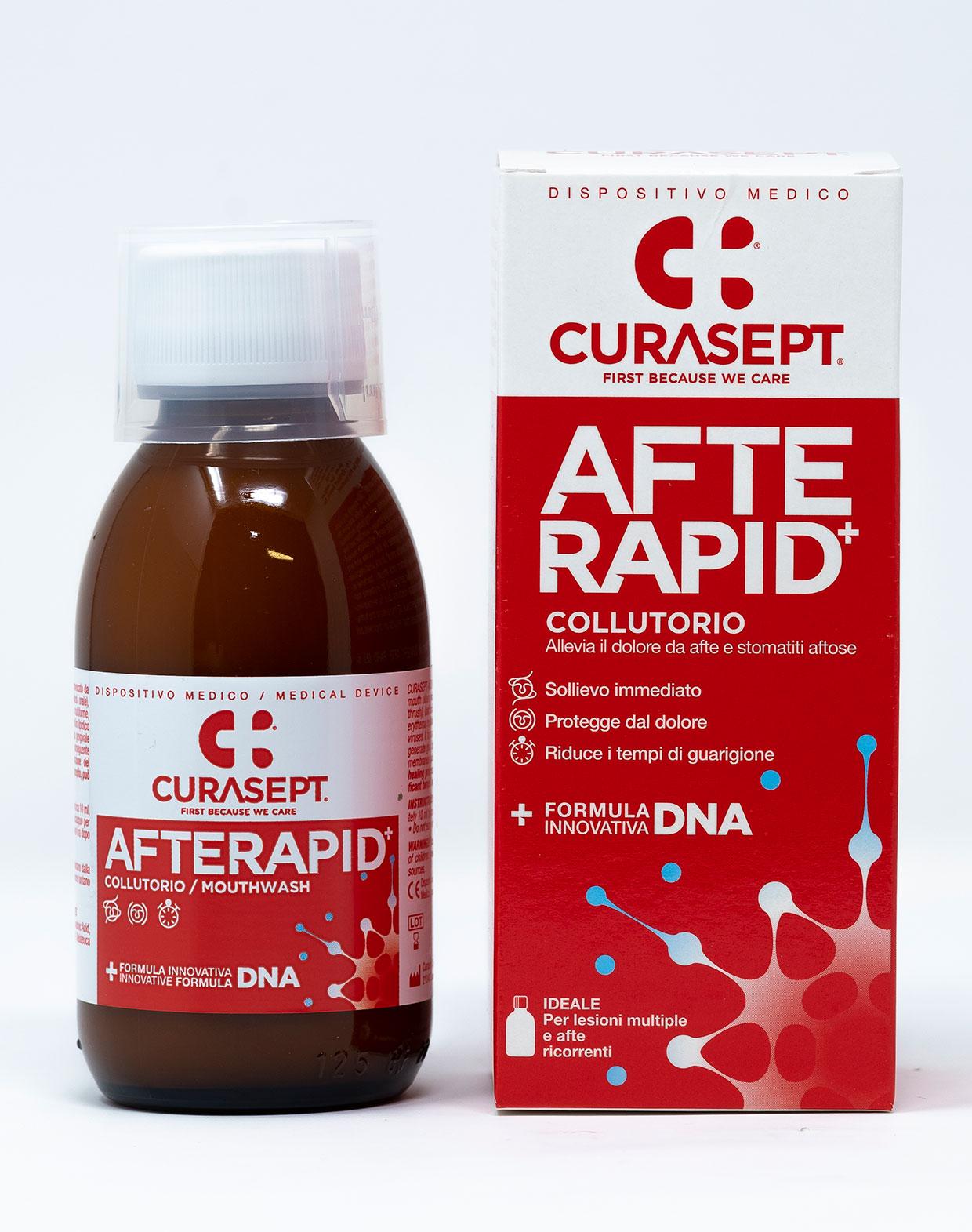 Curasept Collutorio Afte Rapid - 125 ml